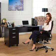 Ergonomic Adjustable Drafting Reception Office Stool-Chair with Armrests WT88