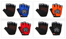 Sports Cycling Bicycle Bike Gel Half Finger Fingerless Gloves Adult/Kid Suitable