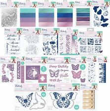 Sara Davies Signature Collection - FLUTTERBY - Dies, Stamps, Folders, Foil, Card