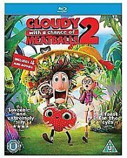 Cloudy with a Chance of Meatballs 2: Revenge of the Leftovers Blu-ray UV New