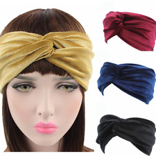 New Elastic Headband Woman Girl Knot Hairband Turban Headband Bandana Headwear