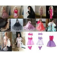 Handmade Dress Wedding Party Mini Gown Fashion Clothes for Barbie Dolls Clothing