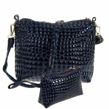 Black Color Cell Phone Pocket Casual Wear Cross-Body Bag For Girl