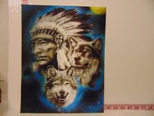 3D Poster Art - Choose One - Wolf, Eagle, Deer, White Tigers, Dolphin