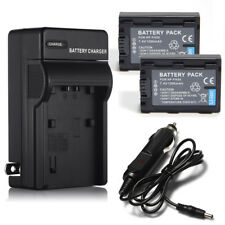 NP-FH50 Battery / Charger For Sony NP-FH40 30 DSC-HX1 HX100V DSLR A230 A330