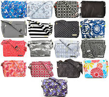 NWT Original Ju Ju Be Better Be Messenger Style Diaper Bag Your Choice of Prints