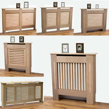 Natural Radiator Cover Unpainted Traditional Classic MDF Wood Wall Cabinet Grill