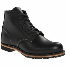 Red Wing Beckman Round 9014 Black Mens Leather Laced Ankle Boots