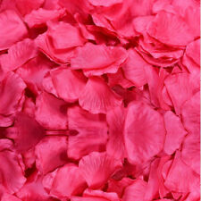 Top quality 1000pcs Silk Rose Flower Petals Leaves Wedding Decorations Party