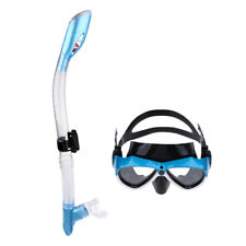 Adults Snorkeling Scuba Diving Dive Swimming Goggles Mask with Dry Snorkel Set