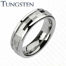 Faceted Spinner Tungsten Carbide Wedding Ring Size 5,6,7,8,9,10,11,12,13 (f123)