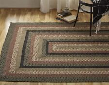 Granville Braided Area Rug By IHF Rugs. Oval & Rectangle. Many Sizes.