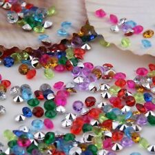 1000x Acrylic Crystal Diamond Confetti 4.5mm Party Table Scatters Wedding Favors