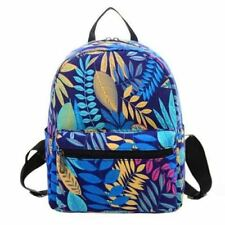 Canvas Material New Fashion Colorful Printed Backpack For Women B281