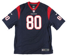 Nike Mens NFL Houston Texans Andre Johnson Replica Jersey Navy Blue