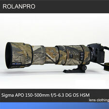Lens Clothing Camouflage Rain Cover for Sigma APO 150-500mm f/5-6.3 DG OS HSM