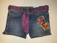Total Girl Jean Shorts  Size 7 Adjustable Waist Bands   NWT