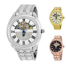 Brooklyn Watch Co. Dunham Silver/ Gold/Rose Gold Tone Automatic Mens Watch - Cho