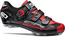 SIDI Dominator 7 MTB Cycling Shoe: BLACK AND RED- VARIOUS Sizes - NEW!