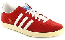 New Mens/Gents Red Adidas Originals Classic Athletic Shoes/Trainers. UK SIZES