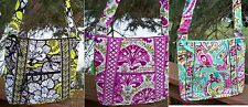 VERA BRADLEY Hipster Cross Body Crossbody Purse Citron Julep Tulip Tutti Frutti