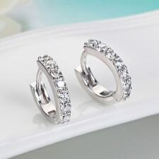 New Arrival Silver Plated Zircon Crystal Decorated Stud Earring For Women