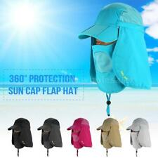 Baseball Cap Camping Hiking Ear Flap Sun Neck Cover Multi-Function Z4Y3