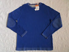 TOMMY BAHAMA ISLAND LUXE CREW SWEATER MENS SIZE XXL COLONIAL BLUE NEW WITH TAGS