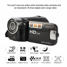 1080P HD 2.4' LCD 16X Digital Zoom Camcorder Video Recorder Camera 16MP DV KitKG