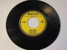"Bobby Vinton - Roses Are Red (My Love) / You And I Vinyl 7"" 45 - Epic - 2779252"