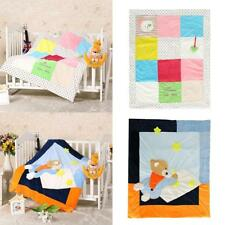 Baby Toddler Gift Crib Cot BED bedding Duvet Cover with Filling (0-3 Months)