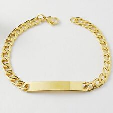 Stainless Steel Link Chain Lobster Clasp Casual Wear Bracelet for Women