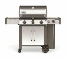 WEBER GENESIS II LX S-340 GAS GRILL/STAINLESS STEEL COOKING GRATES