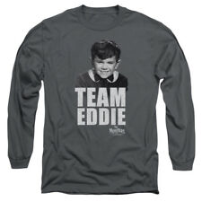The Munsters TV Show Eddie Munster TEAM EDWARD Adult Long Sleeve T-Shirt S-3XL