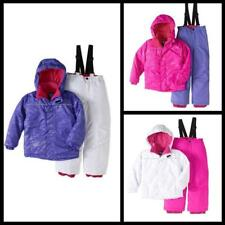 Iceburg Girls Glitter Snow Suit Outdoor Winter outwear Jacket And Bib 2 Pc Set