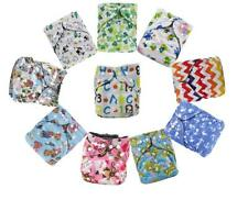 Bamboo Charcoal Reusable Washable Waterproof One Size Pocket Baby Cloth Diaper