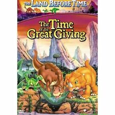 THE LAND BEFORE TIME III: THE TIME OF GREAT GIVING (DVD, 2002)