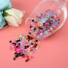 Diamond Table Crystals Acrylic Confetti Wedding Party Scatter Decor 6mm 1000pcs