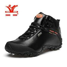 High Leather mountain sport trekking tourism boots Ideal for Hiking and climbing