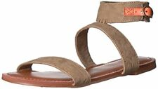 Roxy Women's Marron Ankle Strap Flat Sandal - Choose SZ/Color