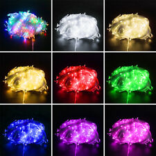 200/300/500/1000 LED String Wire Waterproof Fairy Light Lamp Outdoor Party Decor