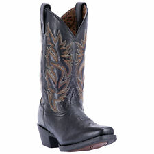 Laredo Womens Black Cowboy Boots Leather Cowboy Boots Square Toe