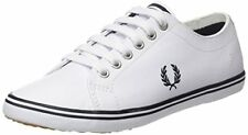 Fred Perry Mens Kingston Leather Smooth Trainers - Choose SZ/Color
