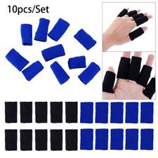 10PCS Sport Finger Bands Brace Support Sleeve Basketball Volleyball Safely YU