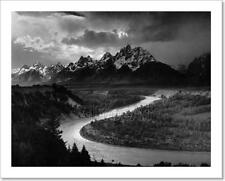 Ansel Adams The Tetons And The Snake River (1942) Grand Teton National Park,...