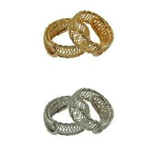 2pcs Memory Wire Bracelet Coiled Spiral Cuff Armband Bangle Bracelet Steel