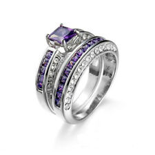 925 Silver Sterling ETERNITY Wedding Band MICROPAVE Diamond Iced Out Womens Ring