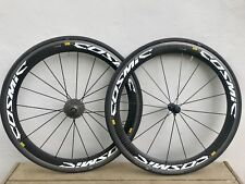 Mavic Cosmic Carbone SL Carbon/Alloy Rim Wheel Set 700c. Shimano 10 seed hub.