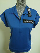 NEW WOMENS Sz XS Blue or Purple OGIO Golf Mercedes-Benz db Polyester #27K Polo