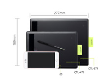 One By Wacom Bamboo Medium Pen Tablet CTL471 /  CTL671 Drawing Tablet for PC MAC